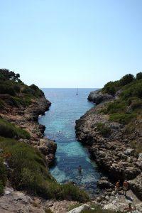 Ausblick bei Drachenhöhlen Mallorca