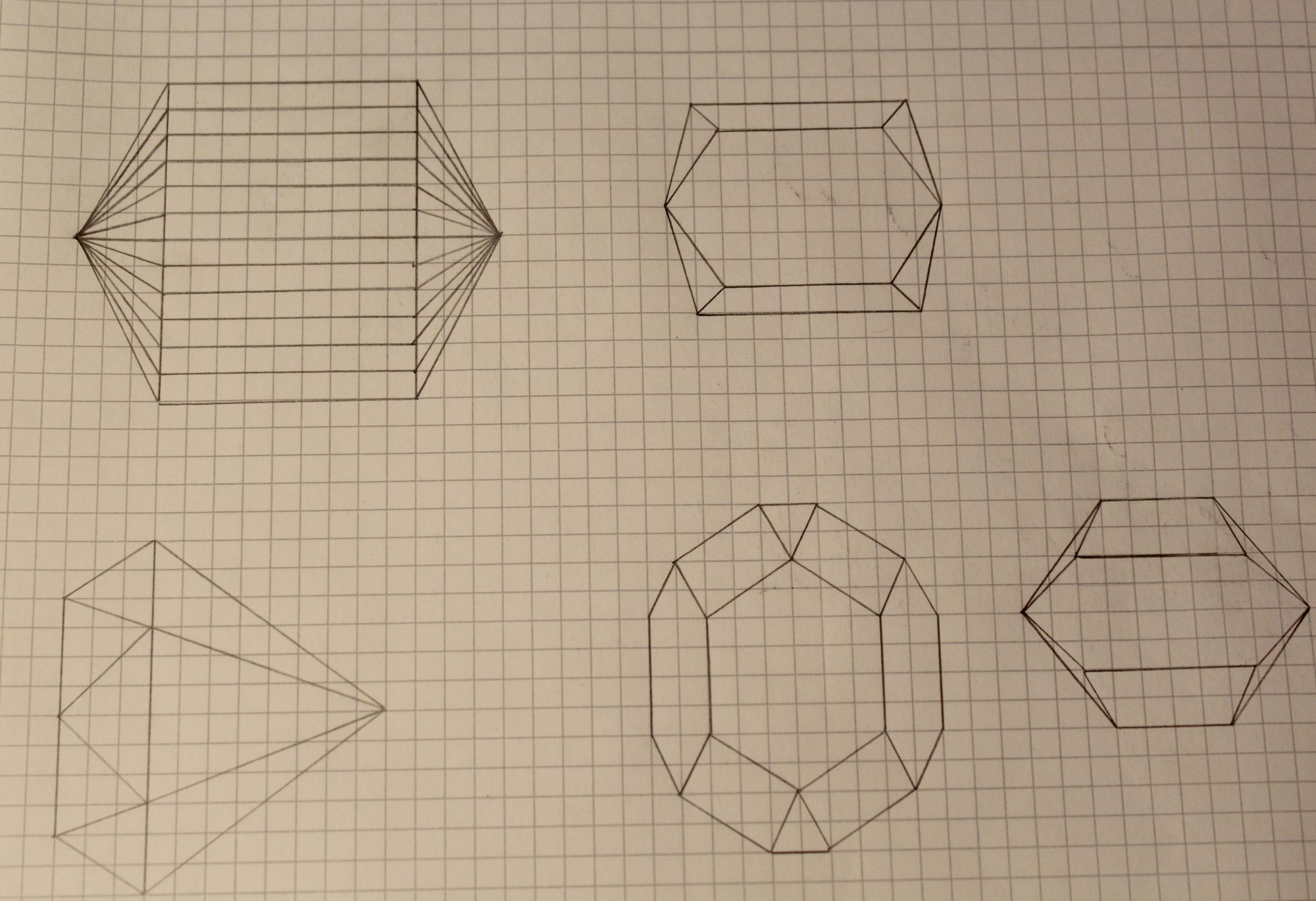 Vorlage Kristalle