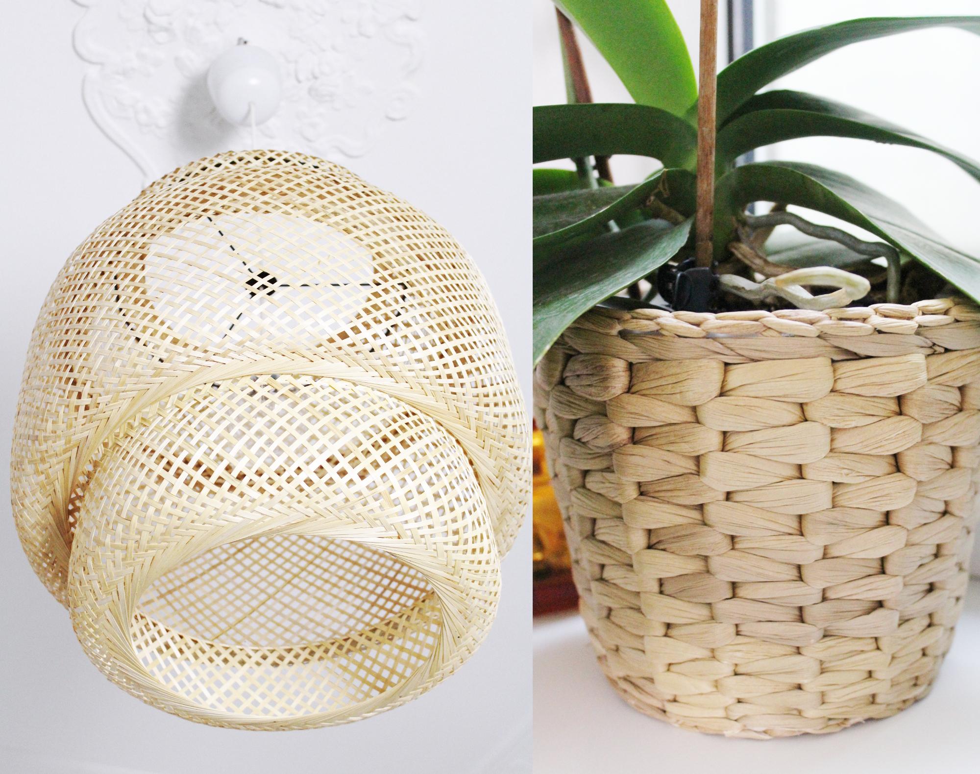 IKEA Wohnaccessoires aus Bambus