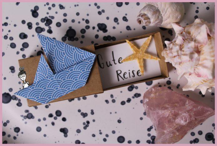 Origami Segelschiff falten mit frau friemel
