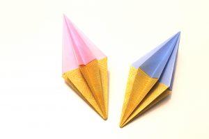 Origami Diamanten Schritt 7