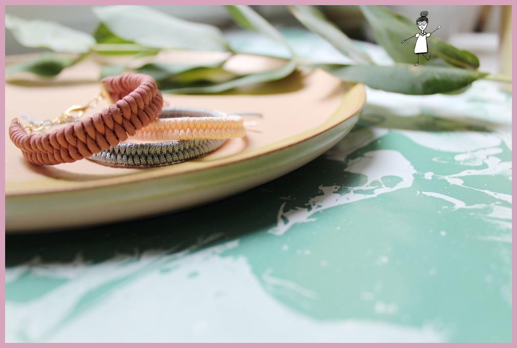 Fischschwanz Armband flechten mit frau friemel