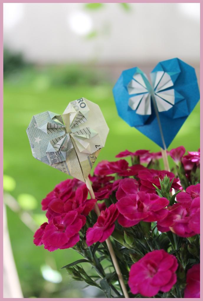 DIY Blog - Origami Herz falten