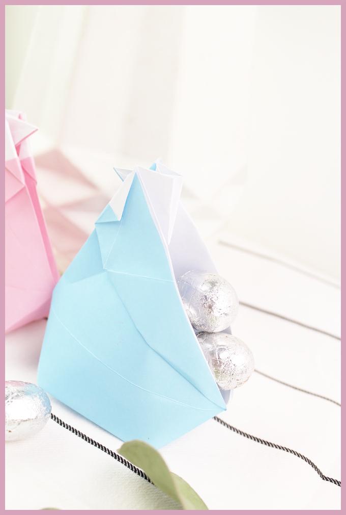 Anleitung Origami Huhn von frau friemel