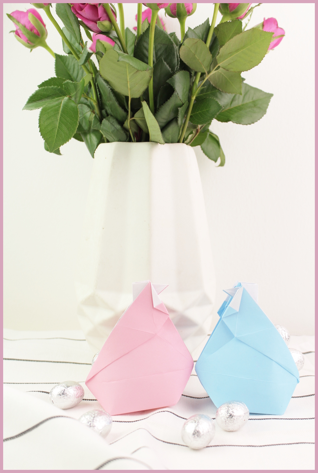 Origami Huhn falten mit frau friemel