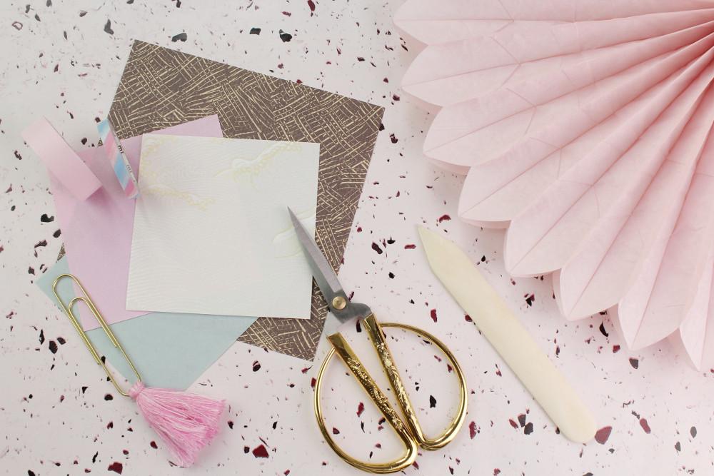 DIY Origami und Plisse