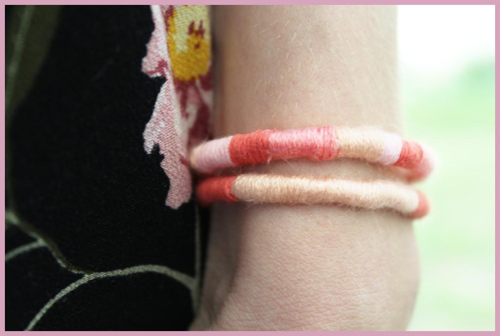 Makramee Armband einfach knüpfen