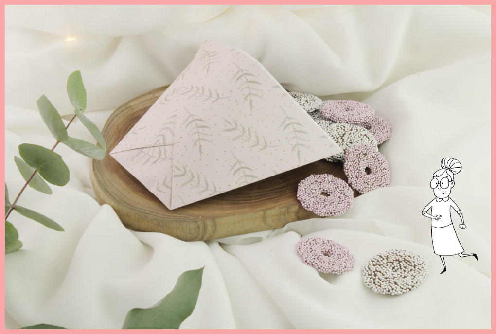 Anleitung Papiertüte falten mit frau friemel