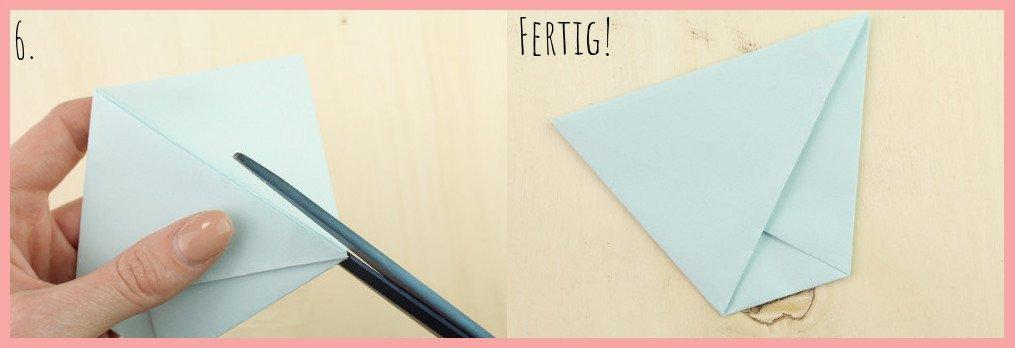 DIY Anleitung Papiertüte falten mit frau friemel - Schritt 6