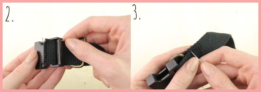 Halsband selber machen mit frau friemel - Schritt 2-3