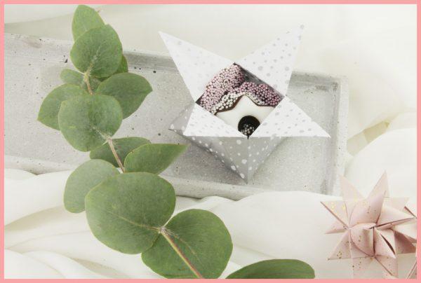Origami Schachteln falten - DIY Anleitung für Sternschachtel