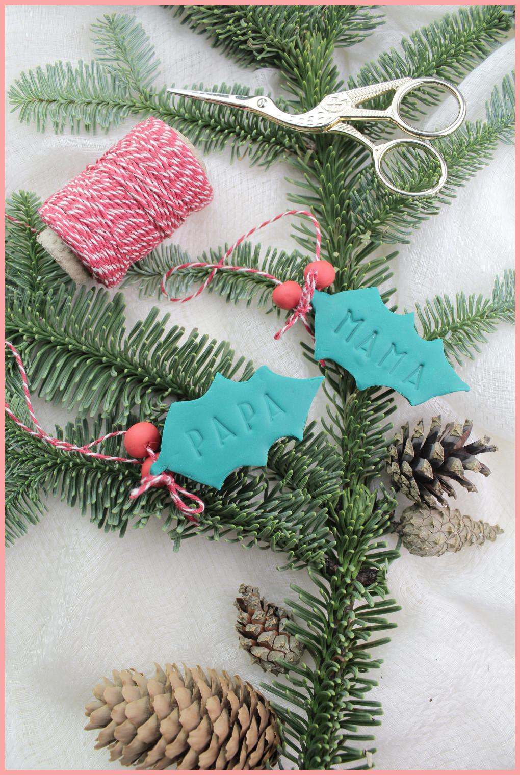 Weihnachtsgewinnspiele fimo Geschenkanhänger