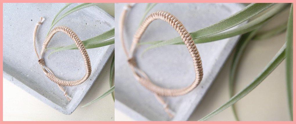 DIY Anleitung Paracord Armband flechten für Frauen