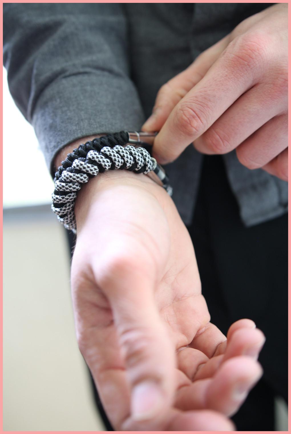 DIY Paracord Armband flechten für Männer