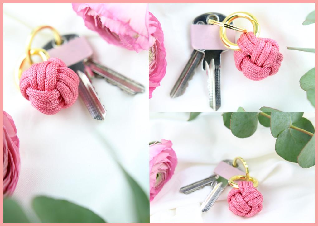 Schlüsselanhänger Knoten mit frau friemel