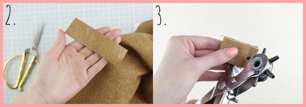 Shibori Geschirrtücher selbst gestalten mit frau friemel - Schritt 2-3