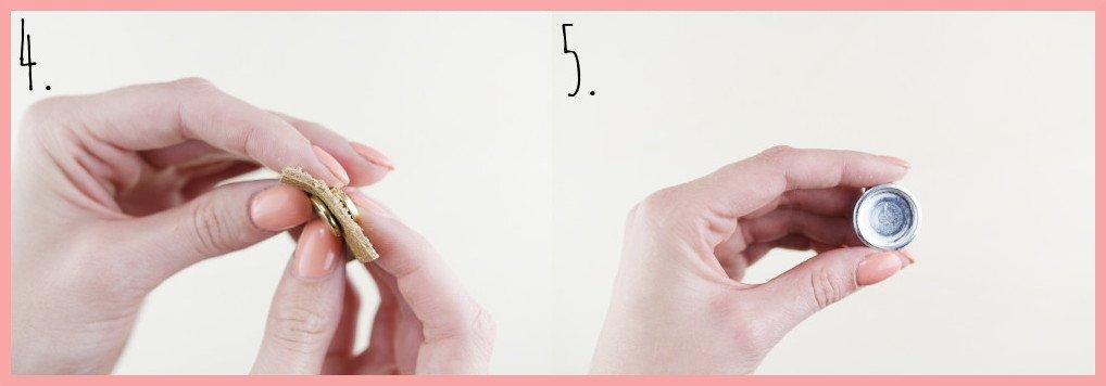 Shibori Geschirrtücher selbst gestalten mit frau friemel - Schritt 4-5