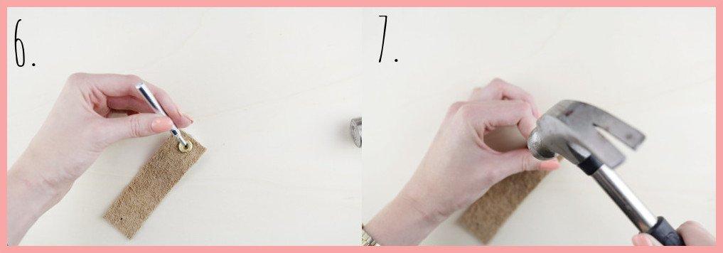 Shibori Geschirrtücher selbst gestalten mit frau friemel - Schritt 6-7