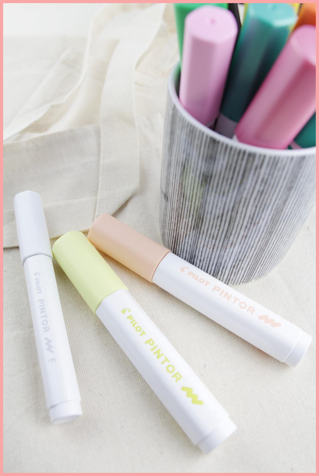 Tipps für die Benutzung der Pilot Pintor Stifte von frau friemel