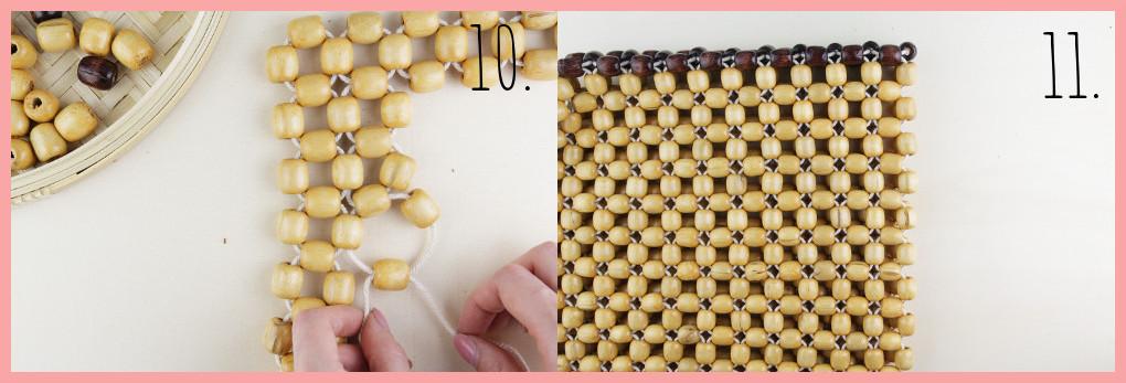 Perlentasche selber machen mit frau friemel - Schritt 10-11