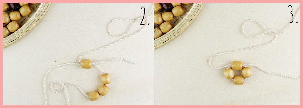 Perlentasche selber machen mit frau friemel - Schritt 2-3