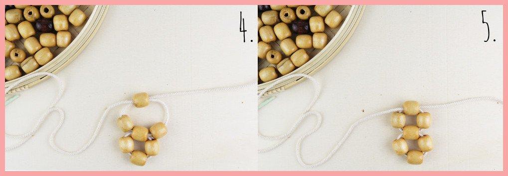 Perlentasche selber machen mit frau friemel - Schritt 4-5