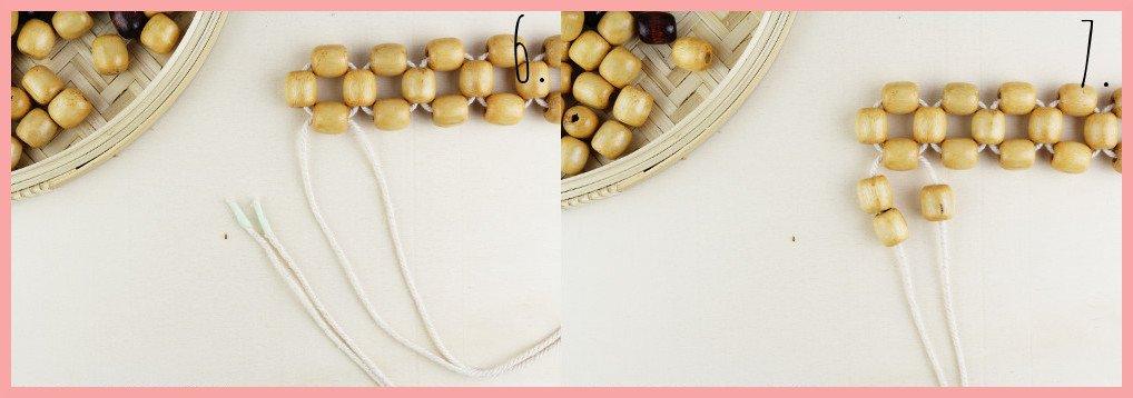 Perlentasche selber machen mit frau friemel - Schritt 6-7