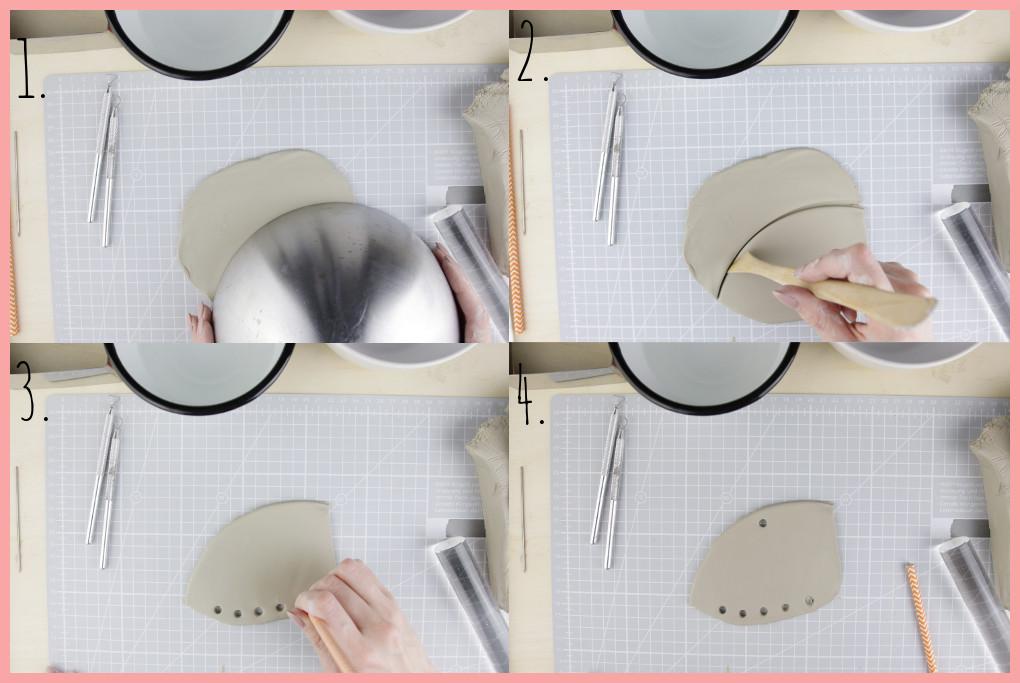 Arbeiten mit Ton - Tricks und moderne Ideen - abstrakte Form