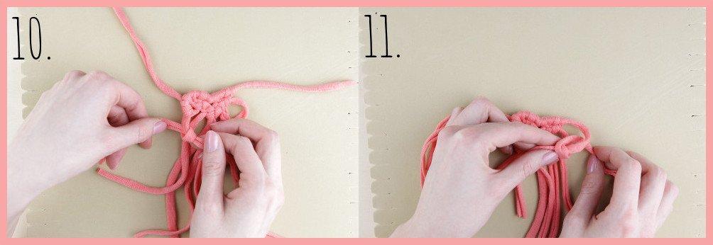 Brosche selber machen - kleine Geschenkidee für den Valentinstag - Schritt 10-11