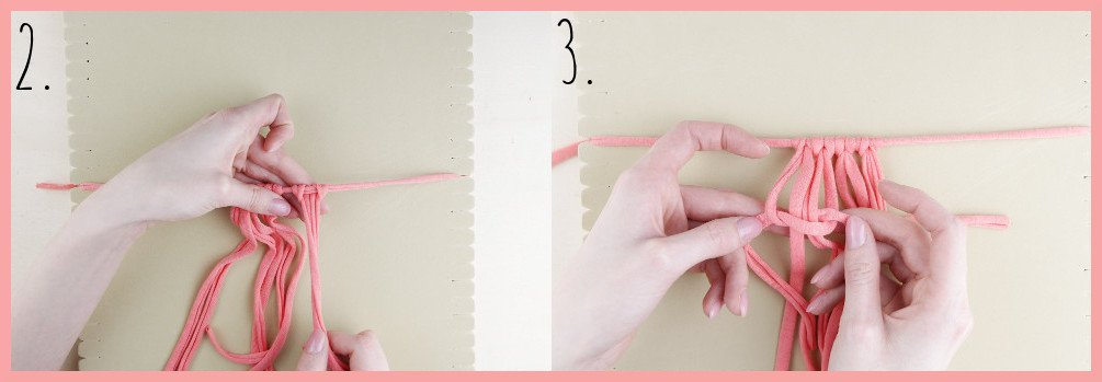 Brosche selber machen - kleine Geschenkidee für den Valentinstag - Schritt 2-3