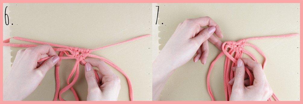 Brosche selber machen - kleine Geschenkidee für den Valentinstag - Schritt 6-7