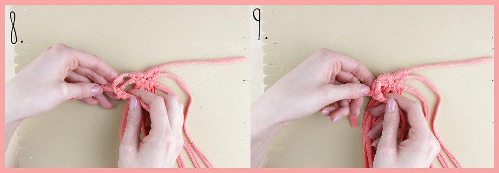 Brosche selber machen - kleine Geschenkidee für den Valentinstag - Schritt 8-9