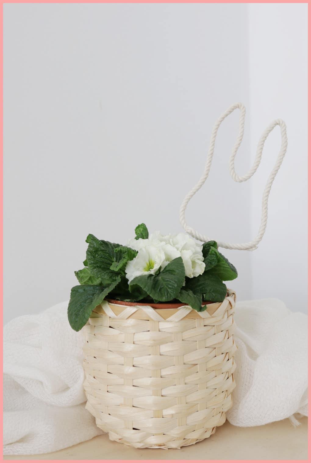 Osterkörbchen basteln aus Milchtüten mit frau friemel