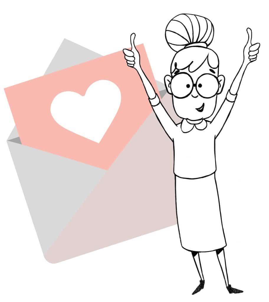 Kleine Geschenkideen Im Briefformat Frau Friemel