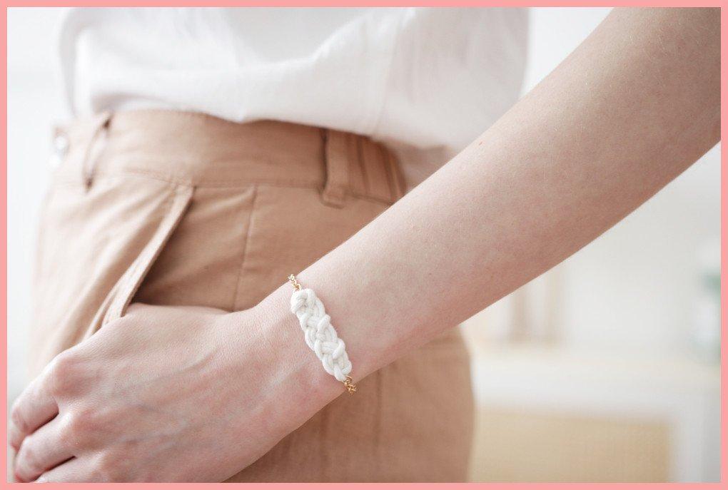 Knoten Armband selber machen mit keltischen Knoten