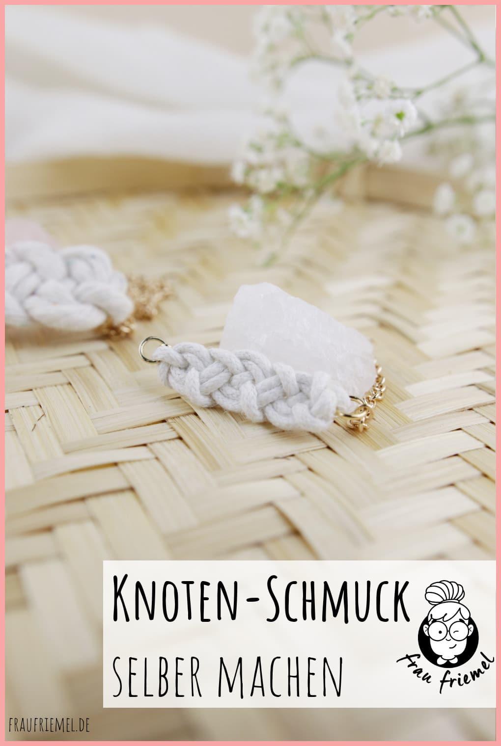 Knoten Schmuck selber machen mit keltischen Knoten auf Pinterest merken