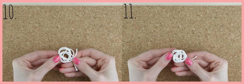 Ohrringe selber machen mit frau friemel - Schritt 10-11