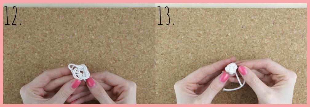 Ohrringe selber machen mit frau friemel - Schritt 12-13