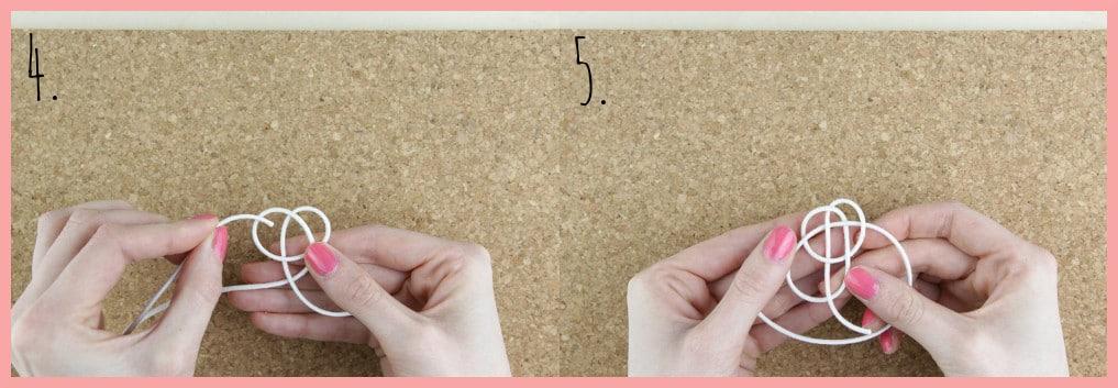 Ohrringe selber machen mit frau friemel - Schritt 4-5