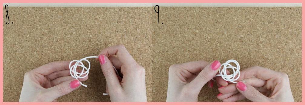 Ohrringe selber machen mit frau friemel - Schritt 8-9