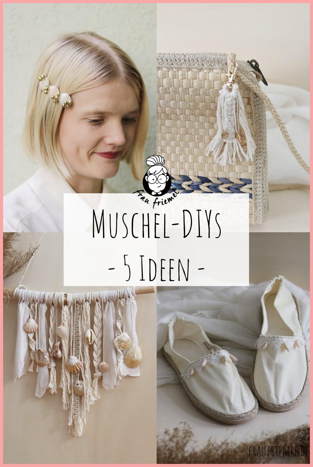 Basteln mit Muscheln auf Pinterest merken