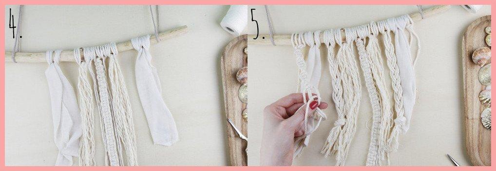 Muschel-Deko selber machen - Schritt 4-5