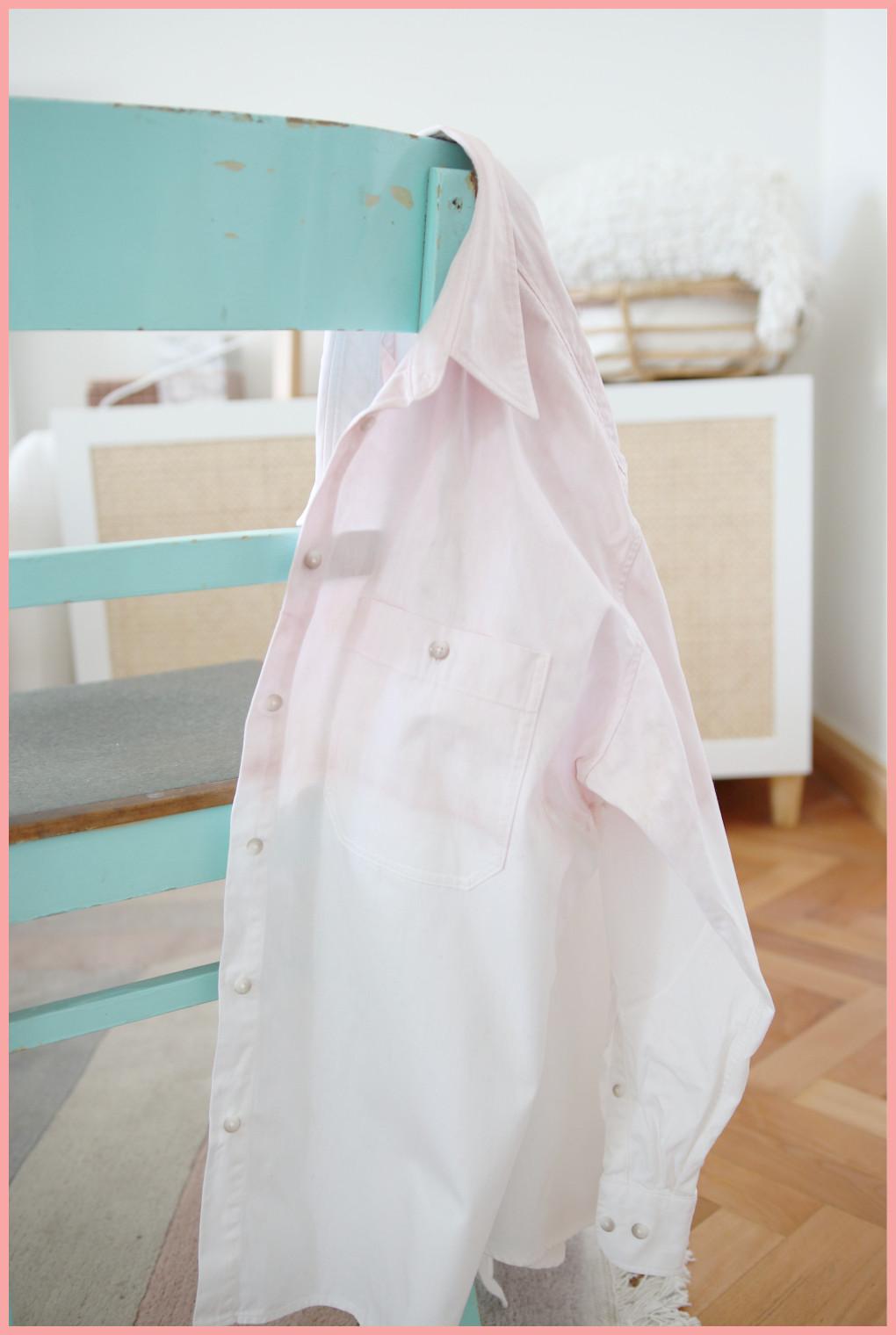 Batik färben mit frau friemel - Dip Dye Ergebnis