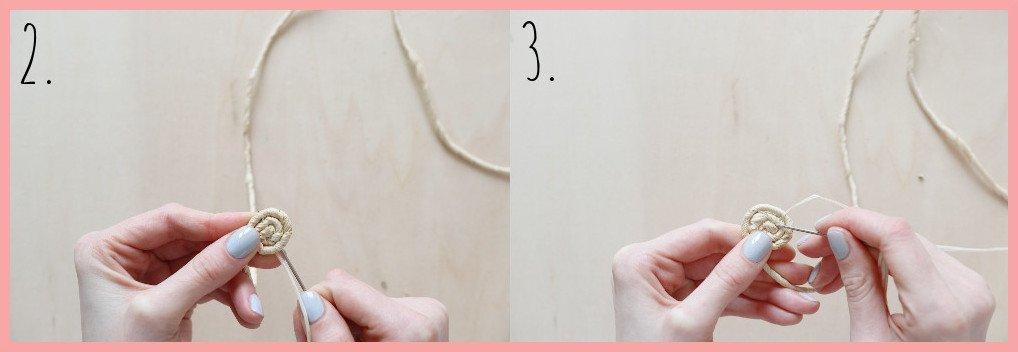 Eierbecher basteln - Schritt 2-3