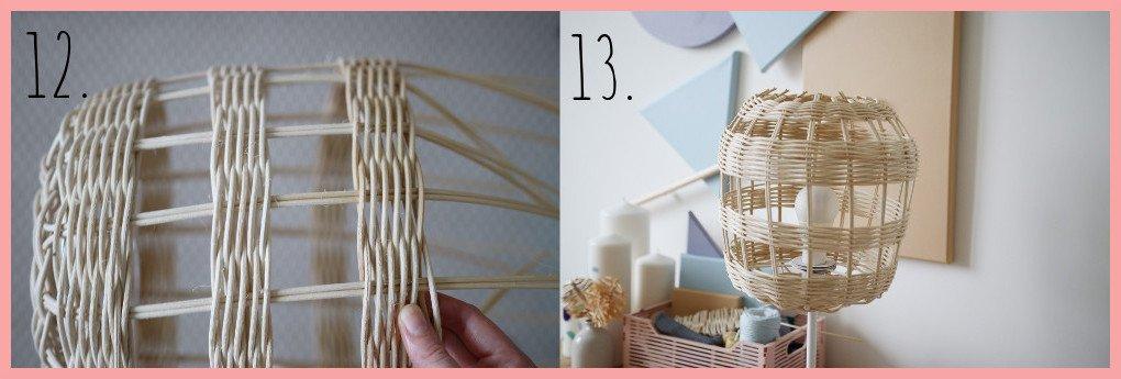 Lampe selber machen - Schritt 12 und 13