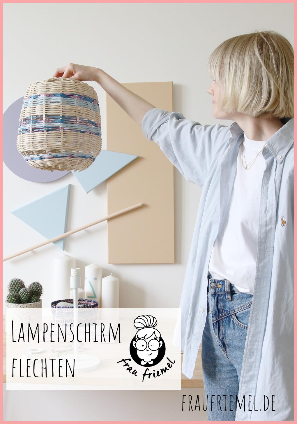 Lampe selber machen auf Pinterest merken