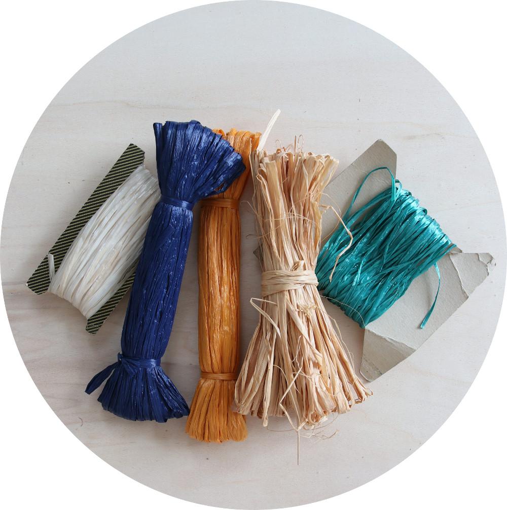 Korbflechten Material - Bastschnur als Nähschnur